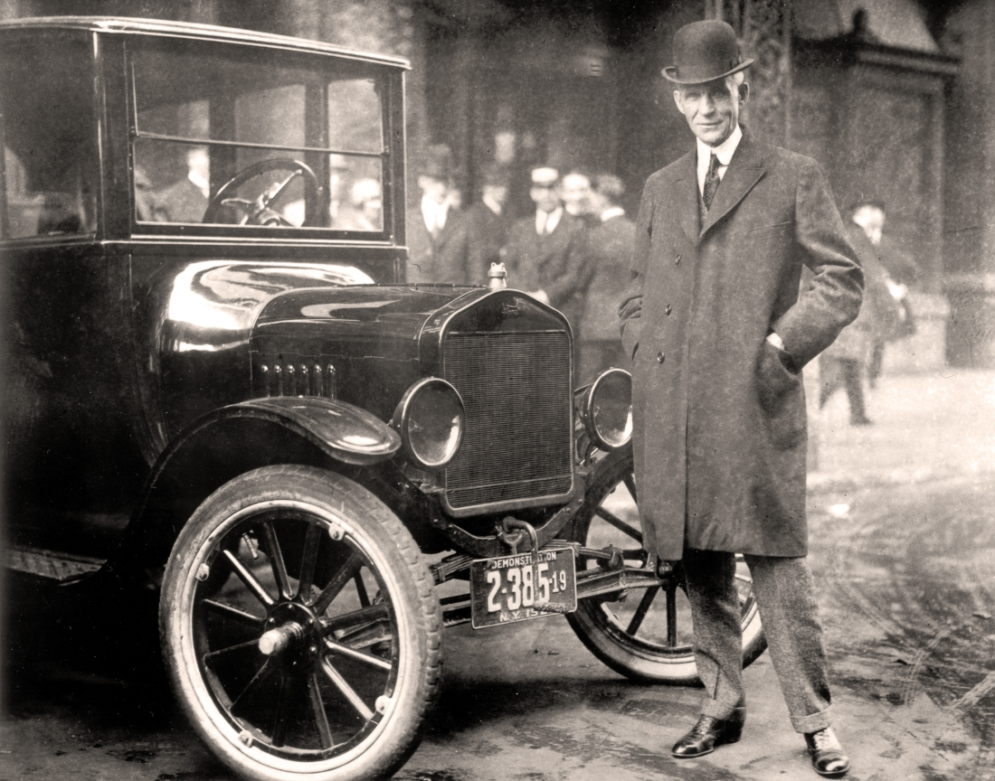 Henry Ford, 1921 - WikiCommons